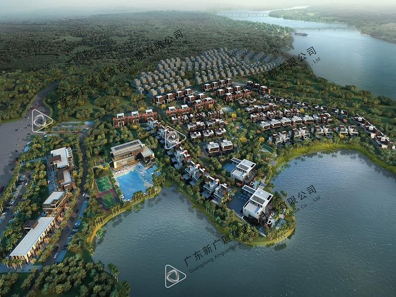 惠州龙湾新城鸟瞰